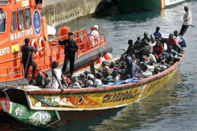 African migrants (file photo).