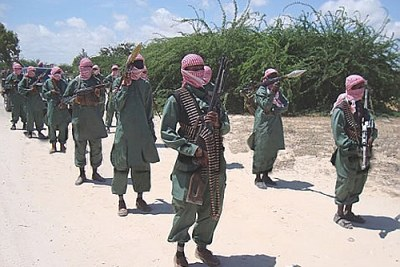 Members of the Al Shabaab terror group (file photo).