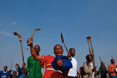 Xenophobia has become endemic (file photo).
