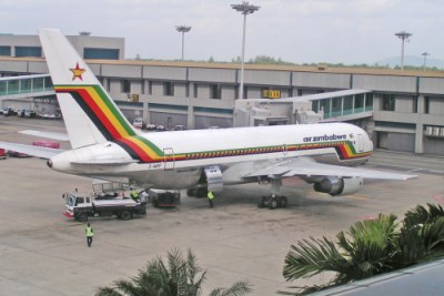 Ms Shingai Dhliwayo was working at Air Zimbabwe as a public relations executive (file photo)