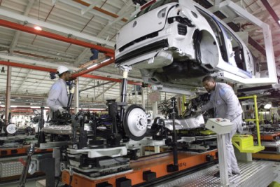 manufacturing vehicles.