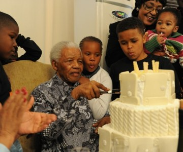 Nelson Mandela, the Family Man