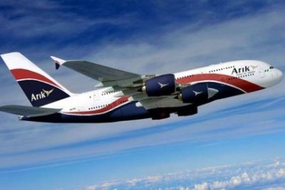 An Arik Air plane.