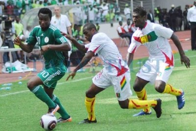 Nigeria's John Mikel Obi in action