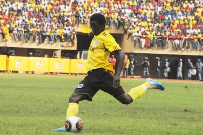 Mike Sserumaga holds the key to Uganda soccer's creativity.