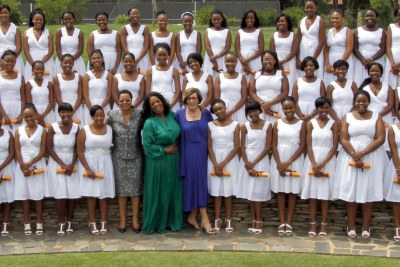 Television icon and business leader Oprah Winfrey celebrated the first graduating class of The Oprah Winfrey Leadership Academy for Girls in South Africa today.