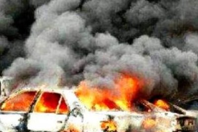 The scene of a previous Kano blasts.