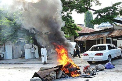 Aftermath (file photo): Religious leaders attacked in zanzibar.