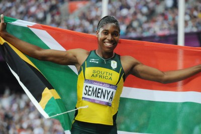 South Africa's Caster Semenya (file photo)