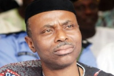 The re-elected governor of Ondo State Olusegun Mimiko, Labour Party candidate