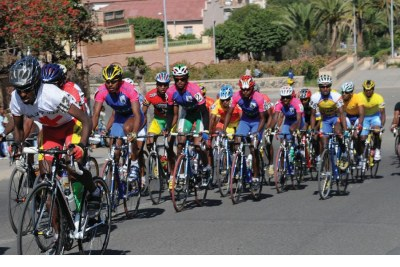 Eritrean cyclists.