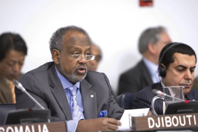 Current president Ismail Omar Guelleh (file photo).