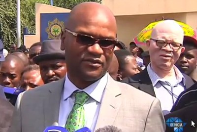 South Africa's National Police Minister Nathi Mthethwa