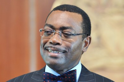Nigeria's Minister of Agriculture and Rural Development Akin Adesina