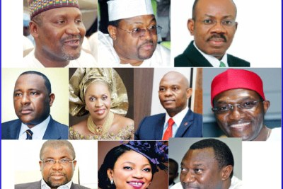 Some of Nigeria's super rich.