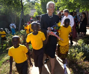 IMF Head Visits Kenya and Mali