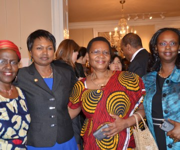 East African Women Ambassadors Feted