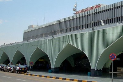 Tripoli International Airport has become a battle ground as rival politician fight to gain control (file photo).