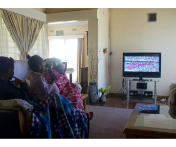 Zimbabwean Women Watched the Fifa World Cup Despite Challenges