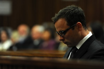 Oscar Pistorius in the Pretoria High Court (file photo).