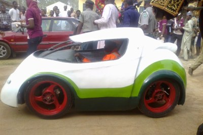 The Ahmadu Bello University has unveiled a car that was manufactured by the institution's Department of Mechanical Engineering.