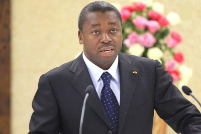 Faure Gnassingbé has been reelected president of the Togo.
