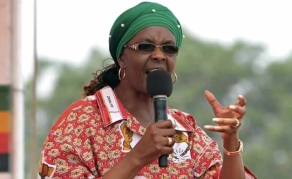 Grace Mugabe Up in Arms at Farm Looters