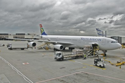 South African Airways Airbus A340.