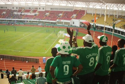 Nigerian fans (file photo).