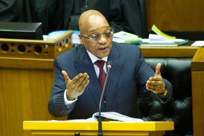 President Jacob Zuma (file photo).