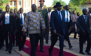 South Sudan's Kiir, Machar Meet In Addis Ababa
