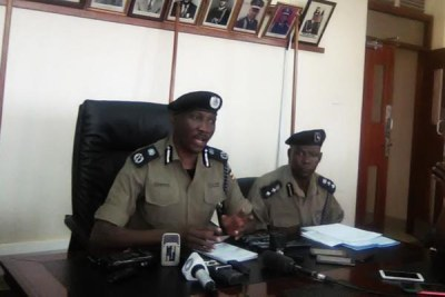 Slain Police spokesperson Andrew Kaweesi (file photo).