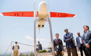 Rwanda's Medical Drone Delivery System Wins Global Award