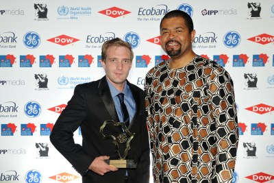 GE Energy and Infrastructure Award - GE - Thomas Konditi President and CEO of GE Transportation Africa and GE SA - Jay Caboz