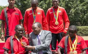 Kenyan President Warns Sports Officials