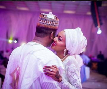 Look at the Beautiful Wedding President Buhari's Daughter Had!
