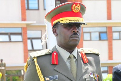 Newly-appointed Chief of Defense Forces Gen David Muhoozi.