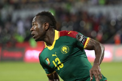 Christian Bassogog of Cameroon (file photo).