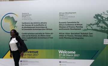 African Development Week Opens in Dakar
