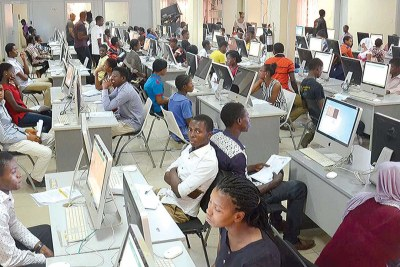 Some of the candidates at the office of the Joint Admissions and Matriculation Board (JAMB) say that it takes several days before an applicant could be registered.