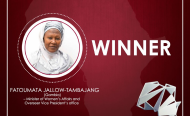 Fatoumatta Jallow Tambajan - New African Woman of the Year