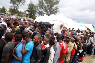 The Angolan government has created a commission to support Congolese refugees.