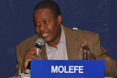 Brian Molefe (file photo).