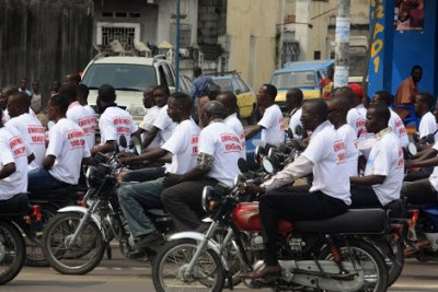 Voters registration campaign in Kinshasa (file photo).
