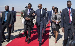 Rwandan President Kagame in Zambia On State Visit