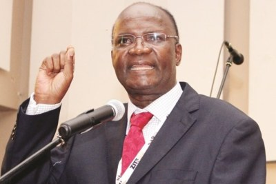 Higher and Tertiary Education, Science and Technology Development Minister Jonathan Moyo.
