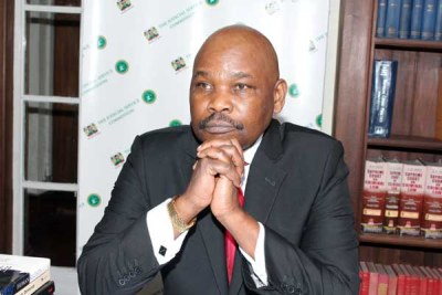 Kenya Human Rights Commission Chairman Makau Mutua.