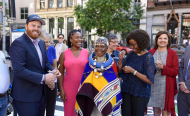 South African Icon Artist Esther Mahlangu Honoured in New York