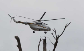 Helicopter Crashes in Lake Nakuru in Kenya