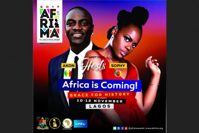 Akon, Sophy Aiida to host Afrima Awards.